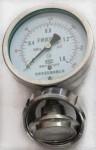 内螺母式卫生型隔膜压力表