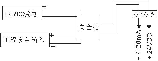 探头部分发射出超声波,然后被液面反射,探头部分再接收.